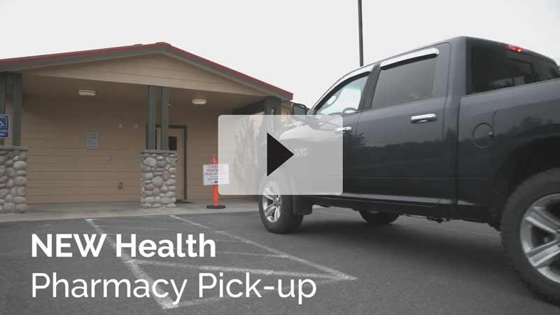 NEW Health Pharmacy Curbside Pickup